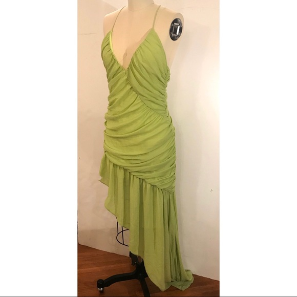 NBD Dresses & Skirts - NBD Neon Lime Green Dress